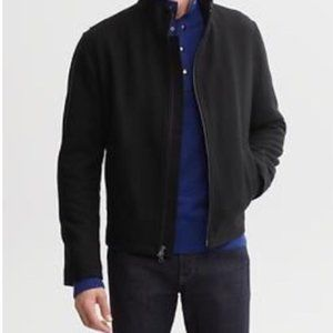 BANANA REPUBLIC Lightweight mens black jacket